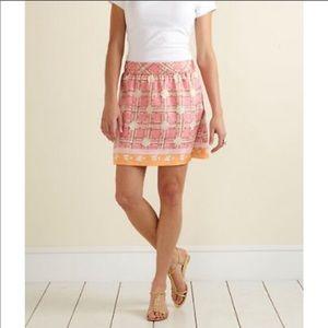 Vineyard Vines NWT Pink 100% Silk Ceezee Skirt